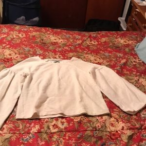 Madewell texture & thread size: large off white